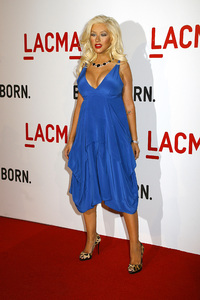 Opening Celebration of the Broad Contemporary Art Museum  Christina Aguilera2-9-2008 / LACMA / Los Angeles, CA / Photo by Max Rodeo - Image 23349_0048