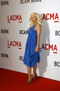 Opening Celebration of the Broad Contemporary Art Museum  Christina Aguilera2-9-2008 / LACMA / Los Angeles, CA / Photo by Max Rodeo - Image 23349_0050