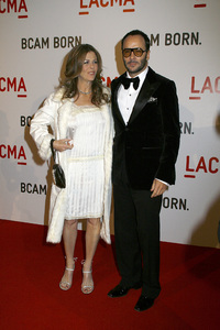 Opening Celebration of the Broad Contemporary Art Museum  Rita Wilson, Tom Ford2-9-2008 / LACMA / Los Angeles, CA / Photo by Max Rodeo - Image 23349_0054