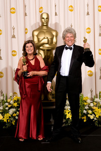 """Academy Awards - 80th Annual"" (Press Room)Jan Archibald, Didier Lavergne2-24-2008Photo by Matt Petit © 2008 A.M.P.A.S. - Image 23359_0044"