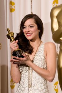 """Academy Awards - 80th Annual"" (Press Room)Marion Cotillard2-24-2008Photo by Matt Petit © 2008 A.M.P.A.S. - Image 23359_0045"