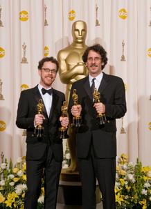 """Academy Awards - 80th Annual"" (Press Room)Ethan Coen, Joel Coen2-24-2008Photo by Matt Petit © 2008 A.M.P.A.S. - Image 23359_0077"