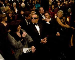 """Academy Awards - 80th Annual"" (Telecast)Josh Brolin, Jack Nicholson, Javier Bardem2-24-08Photo by Greg Harbaugh © 2008 A.M.P.A.S. - Image 23359_0123"