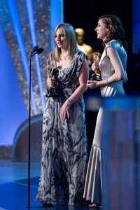 """Academy Awards - 80th Annual"" (Telecast)Cynthia Wade, Vanessa Roth2-24-08Photo by Greg Harbaugh © 2008 A.M.P.A.S. - Image 23359_0130"