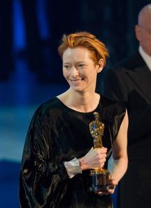 """Academy Awards - 80th Annual"" (Telecast)Tilda Swinton2-24-08Photo by Darren Decker © 2008 A.M.P.A.S. - Image 23359_0139"
