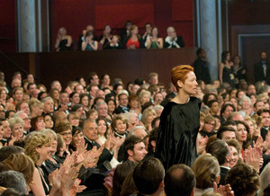 """Academy Awards - 80th Annual"" (Telecast)Tilda Swinton2-24-08Photo by Greg Harbaugh © 2008 A.M.P.A.S. - Image 23359_0141"