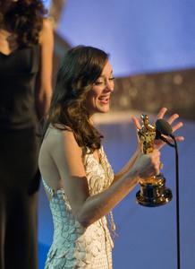 """Academy Awards - 80th Annual"" (Telecast)Marion Cotillard2-24-08Photo by Darren Decker © 2008 A.M.P.A.S. - Image 23359_0143"