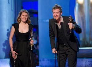 """Academy Awards - 80th Annual"" (Telecast)Marketa Irglova, Glen Hansard2-24-08Photo by Michael Yada © 2008 A.M.P.A.S. - Image 23359_0169"