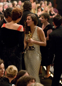 """""""Academy Awards - 80th Annual"""" (Telecast)Marion Cotillard2-24-08Photo by Greg Harbaugh © 2008 A.M.P.A.S. - Image 23359_0170"""
