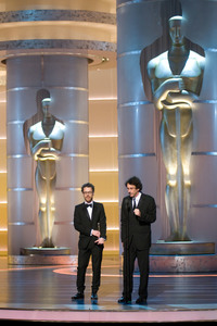 """Academy Awards - 80th Annual"" (Telecast)Ethan Coen, Joel Coen2-24-08Photo by Michael Yada © 2008 A.M.P.A.S. - Image 23359_0173"