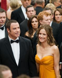 """Academy Awards - 80th Annual"" (Arrivals)John Travolta, Kelly Preston2-24-08 Photo By Matt Petit © 2008 A.M.P.A.S. - Image 23359_0197"