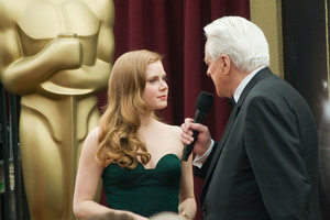 """Academy Awards - 80th Annual"" (Arrivals)Amy Adams, Robert Osborne2-24-08 Photo By Matt Petit © 2008 A.M.P.A.S. - Image 23359_0201"