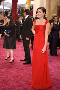 """""""Academy Awards - 80th Annual"""" (Arrivals)Miley Ray Cyrus2-24-08 Photo By Armando Flores © 2008 A.M.P.A.S. - Image 23359_0249"""