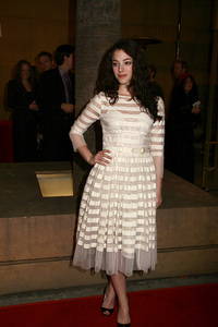 """""""Snow Angels"""" Premiere Olivia Thirlby2-28-2008 / Egyptian Theater / Los Angeles, CA / Warner Independent Pictures / Photo by Max Rodeo - Image 23366_0021"""
