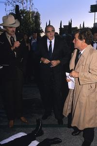 Peter Falk with Abe Vigoda and Dennis Weavercirca 1980s© 1980 Gary Lewis - Image 2338_0141