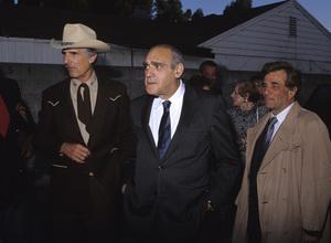 Peter Falk with Abe Vigoda and Dennis Weavercirca 1980s© 1980 Gary Lewis - Image 2338_0142