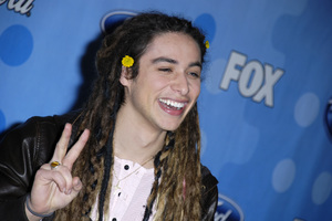 """American Idol Top 12 Party - Arrivals""Jason Castro03-06-2008 / Pacific Design Center / West Hollywood, California / Photo by Andrew Howick - Image 23387_0064"