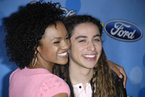 """American Idol Top 12 Party - Arrivals""Syesha Mercado, Jason Castro03-06-2008 / Pacific Design Center / West Hollywood, California / Photo by Andrew Howick - Image 23387_0065"