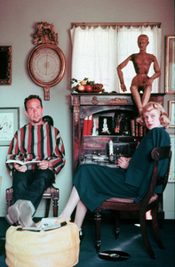Jose Ferrer and Rosemary Clooneycirca 1957 © 1978 Sanford Roth / A.M.P.A.S. - Image 2347_0005