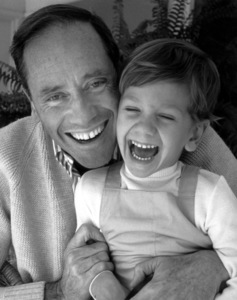 Mel Ferrer and son Sean1963  At Home © 1978 John Swope - Image 2348_0006