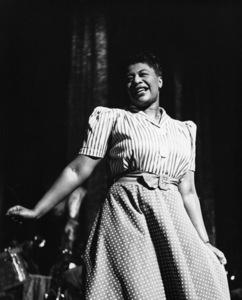 Ella Fitzgerald leading her orchestra1939** I.V.M. - Image 2353_0127