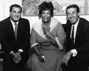 Ella Fitzgerald with Sandler and Young (Tony Sandler and Ralph Young)circa 1960s** I.V.M. - Image 2353_0131