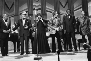 "Ella Fitzgerald with Count Basie, Benny Goodman, Doc Severinsen, Joe Williams and Duke Ellington on the ""Timex All-Star Swing Festival""1972** I.V.M. - Image 2353_0132"