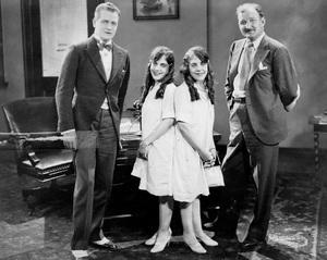 Violet and Daisy Hilton with Reginald Denny at Universal1926** I.V. - Image 23543_0001
