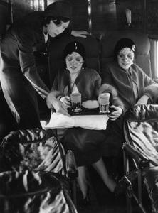 Violet and Daisy Hilton on United Airlines flight1932** I.V. - Image 23543_0004