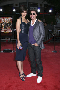 """""""Tropic Thunder"""" PremiereKatie Holmes, Tom Cruise 8-11-2008 / Mann Village Theater / Los Angeles, CA / Dreamworks / Photo by Max Rodeo - Image 23587_0016"""