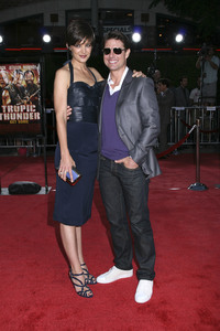 """""""Tropic Thunder"""" PremiereKatie Holmes, Tom Cruise 8-11-2008 / Mann Village Theater / Los Angeles, CA / Dreamworks / Photo by Max Rodeo - Image 23587_0017"""