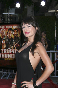 """Tropic Thunder"" Premiere Marcela Mar 8-11-2008 / Mann Village Theater / Los Angeles, CA / Dreamworks / Photo by Max Rodeo - Image 23587_0033"