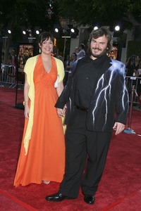 """""""Tropic Thunder"""" Premiere Jack Black, Tanya Haden 8-11-2008 / Mann Village Theater / Los Angeles, CA / Dreamworks / Photo by Max Rodeo - Image 23587_0037"""
