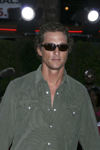 """Tropic Thunder"" Premiere Matthew McConaughey 8-11-2008 / Mann Village Theater / Los Angeles, CA / Dreamworks / Photo by Max Rodeo - Image 23587_0059"