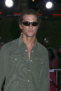 """Tropic Thunder"" Premiere Matthew McConaughey 8-11-2008 / Mann Village Theater / Los Angeles, CA / Dreamworks / Photo by Max Rodeo - Image 23587_0060"