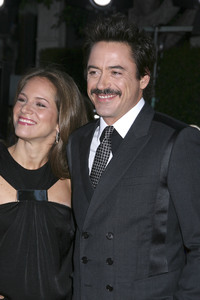 """""""Tropic Thunder"""" Premiere Susan Downey, Robert Downey Jr.8-11-2008 / Mann Village Theater / Los Angeles, CA / Dreamworks / Photo by Max Rodeo - Image 23587_0064"""