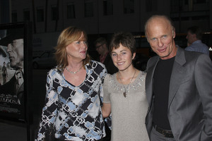 """""""Appaloosa"""" PremiereAmy Madigan, Lily Harris, Ed Harris 9-17-08 / The Academy Theatre / Beverly Hills, CA / New Line Cinema / Photo by Max Rodeo - Image 23611_0014"""