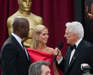 """The 81st Annual Academy Awards"" (Arrivals)Seal, Heidi Klum, Robert Osborne02-22-2009Photo by Erik Ovanespour © 2009 A.M.P.A.S. - Image 23704_0066"