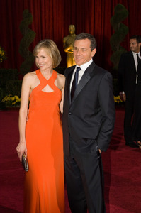 """""""The 81st Annual Academy Awards"""" (Arrivals)Willow Bay, Robert A. Iger02-22-2009Photo by Bryan Crowe © 2009 A.M.P.A.S. - Image 23704_0106"""