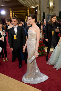 """The 81st Annual Academy Awards"" (Arrivals)Anne Hathaway02-22-2009Photo by Jon Didier © 2009 A.M.P.A.S. - Image 23704_0151"
