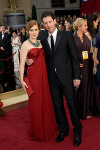 """""""The 81st Annual Academy Awards"""" (Arrivals)Amy Adams, Darren Le Gallo02-22-2009Photo by Jon Didier © 2009 A.M.P.A.S. - Image 23704_0158"""