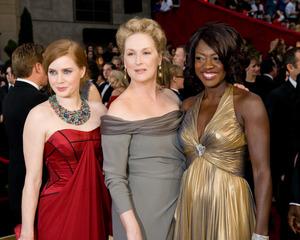 """The 81st Annual Academy Awards"" (Arrivals)Amy Adams, Meryl Streep, Viola Davis02-22-2009Photo by Jon Didier © 2009 A.M.P.A.S. - Image 23704_0159"