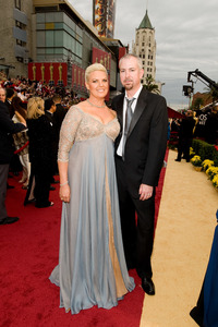 """""""The 81st Annual Academy Awards"""" (Arrivals)Thomas Floutz, Jeanne Taylor02-22-2009Photo by Darren Decker © 2009 A.M.P.A.S. - Image 23704_0164"""