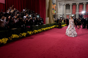 """""""The 81st Annual Academy Awards"""" (Arrivals)Miley Cyrus02-22-2009Photo by Armando Flores © 2009 A.M.P.A.S. - Image 23704_0167"""
