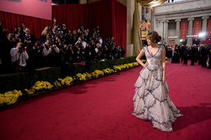 """""""The 81st Annual Academy Awards"""" (Arrivals)Miley Cyrus02-22-2009Photo by Armando Flores © 2009 A.M.P.A.S. - Image 23704_0168"""