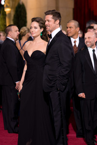 """The 81st Annual Academy Awards"" (Arrivals)Angelina Jolie, Brad Pitt02-22-2009Photo by Armando Flores © 2009 A.M.P.A.S. - Image 23704_0182"
