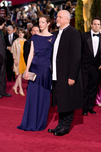 """""""The 81st Annual Academy Awards"""" (Arrivals)Meabh Flynn, Peter Gabriel02-22-2009Photo by Armando Flores © 2009 A.M.P.A.S. - Image 23704_0186"""