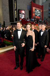 """The 81st Annual Academy Awards"" (Arrivals)Brad Pitt, Angelina Jolie02-22-2009Photo by Jon Didier © 2009 A.M.P.A.S. - Image 23704_0204"