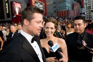 """The 81st Annual Academy Awards"" (Arrivals)Brad Pitt, Angelina Jolie02-22-2009Photo by Jon Didier © 2009 A.M.P.A.S. - Image 23704_0205"