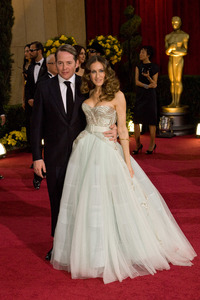 """""""The 81st Annual Academy Awards"""" (Arrivals)Matthew Broderick, Sarah Jessica Parker02-22-2009Photo by Bryan Crowe © 2009 A.M.P.A.S. - Image 23704_0215"""